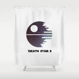 Death Star II Shower Curtain