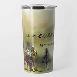 Team 7 Never Give Up Travel Mug