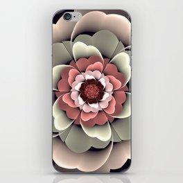 Fantasy spring flower iPhone Skin
