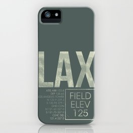 LAX II iPhone Case