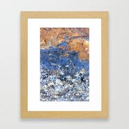 Summer Seaspray Framed Art Print