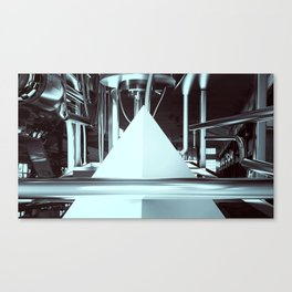 PROTECTED FACTORY PYRAMID NUMBER 8 Canvas Print