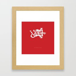 What if I Fall off the Roof? -The Santa Clause Framed Art Print