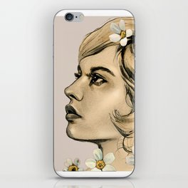 Portrait of her iPhone Skin