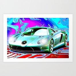 Fast Benzie Art Print