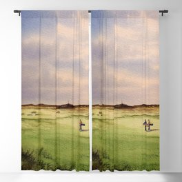 Turnberry Golf Course 12th Hole Blackout Curtain
