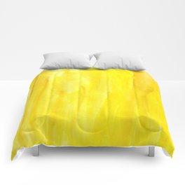 Yellow no. 1 Comforters