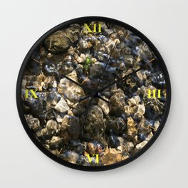 Doulting Pebbles Wall Clock