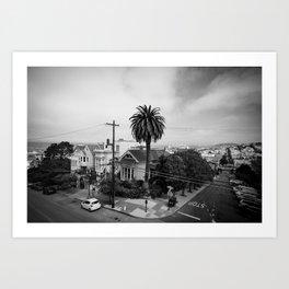 Russian Hill   San Francisco  Art Print