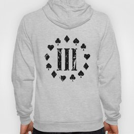 Three Percenter Aces Distressed Hoody