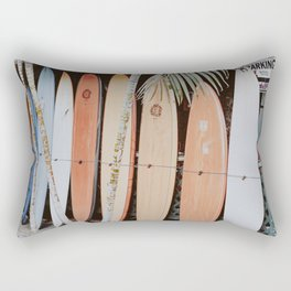 lets surf ii Rectangular Pillow