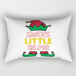 SANTA'S LITTLE HELPER Rectangular Pillow