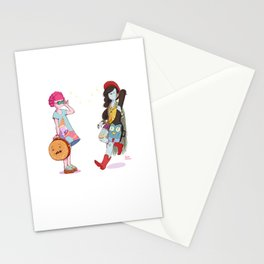 Bubblegum and Marceline Stationery Cards