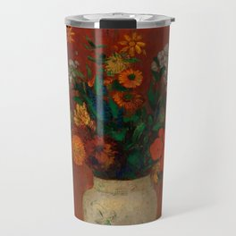 "Odilon Redon ""Bouquet in a Chinese Vase"" Travel Mug"