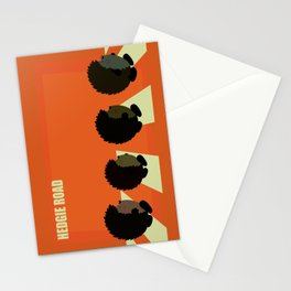 Hedgie road Stationery Cards