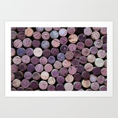 Red, Red Wine Art Print