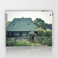 House in the mountains Laptop & iPad Skin