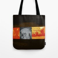simba Tote Bags featuring SIMBA by David Hinnebusch