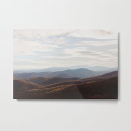 Autumn Shenandoah Valley Metal Print