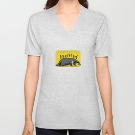 Every Day I'm Hufflin' Unisex V-Neck
