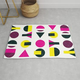 rasberry and lemon with litlle darkness Rug