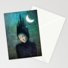 Moonlit Night Stationery Cards