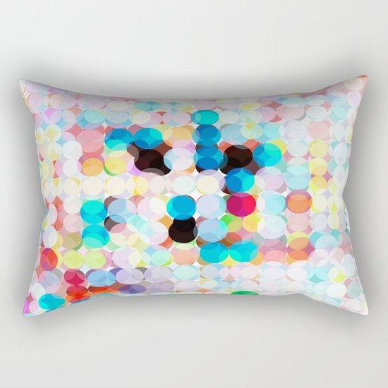 dot transparency Rectangular Pillow