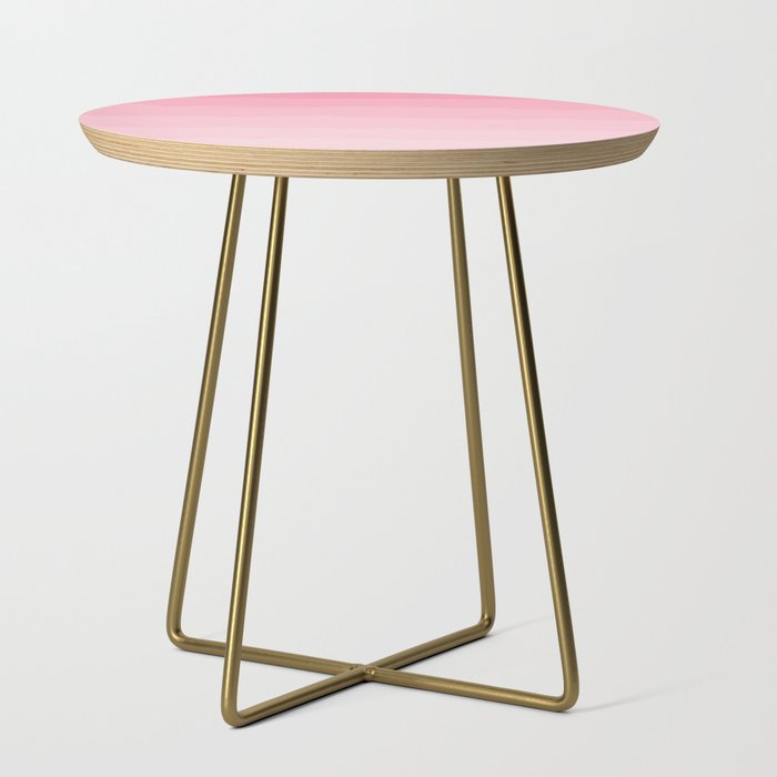 Light Pink Cloud Layers Side Table