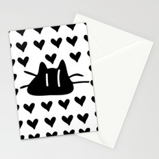 LOVE LOVE CAT Stationery Cards