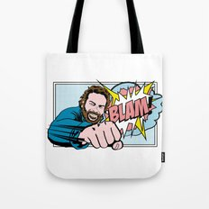 Bud Spencer Pop Art Tote Bag