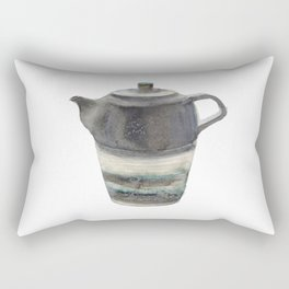 Japanese Teapot Rectangular Pillow