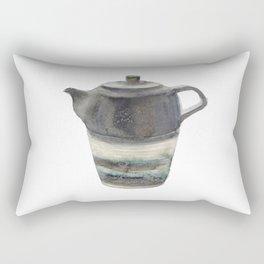 Japanese Teapot Rectangular Pillow