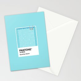Pantone Series – Summer Swim Stationery Cards