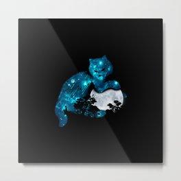 LIGHTING CAT Metal Print
