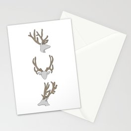 Three little Deer Stationery Cards
