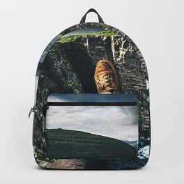 at the edge of the world Backpack