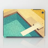 pool iPad Cases featuring Pool by Herb Vaine