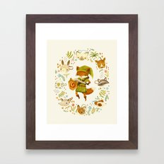 The Legend of Zelda: Mammal's Mask Framed Art Print