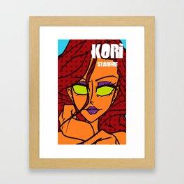 Kori - starfire Framed Art Print