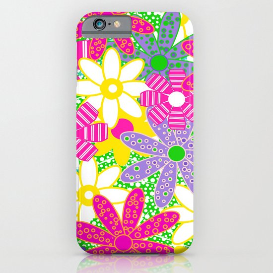 Frolicking Flowers iPhone & iPod Case