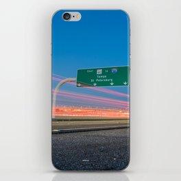Highway to Light iPhone Skin