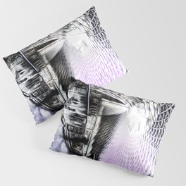 Kings Cross Station Art Pillow Sham