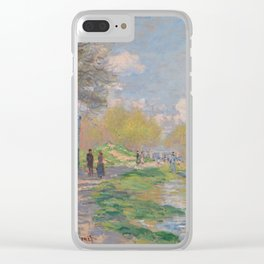 Spring by the Seine Clear iPhone Case