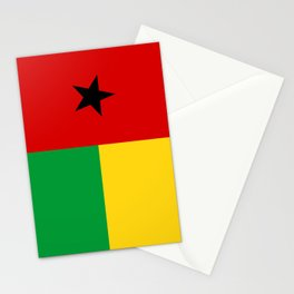 Guinea Bissau country flag Stationery Cards