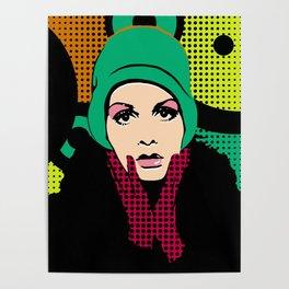 """Twiggy Pop Color"" Poster"