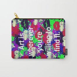 Art is... Carry-All Pouch