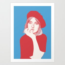 Good morning Paris Art Print