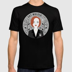 Scully Black Mens Fitted Tee MEDIUM