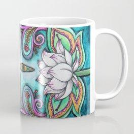 Enlightened Dragonfly Coffee Mug