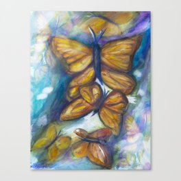 Shaded Wings Canvas Print